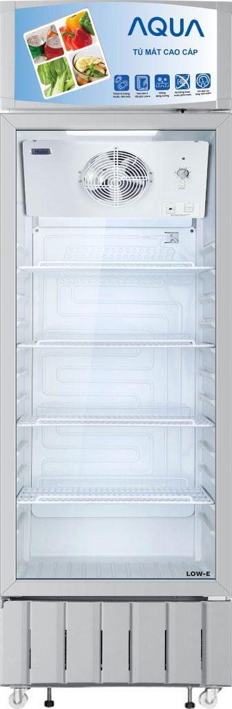 Tủ mát AQUA AQS-F418S 340 lít